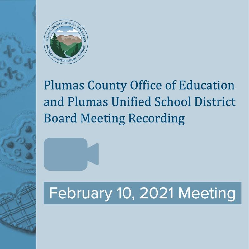 Video recording of 2/10/21 Board Meeting