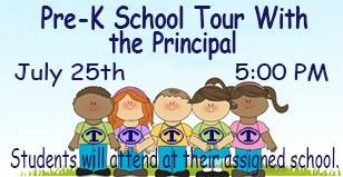 Pre-K School Tours with Principals Featured Photo