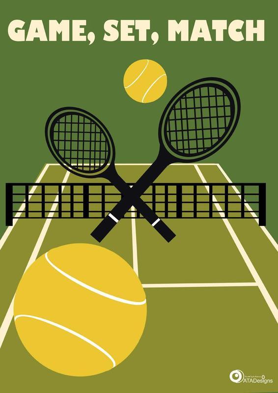 Game, Set, Match! Tennis Photo
