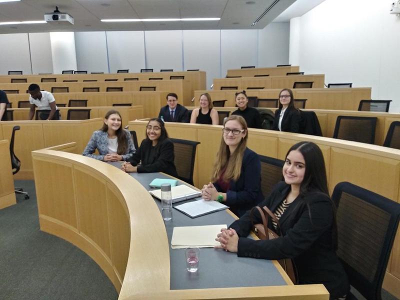Maspeth High School Law Club Presents Final Arguments Featured Photo