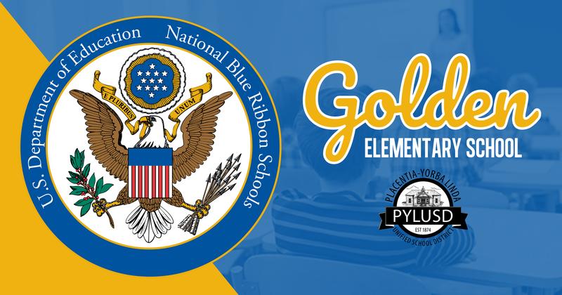 Golden ES is a national blue ribbon school.