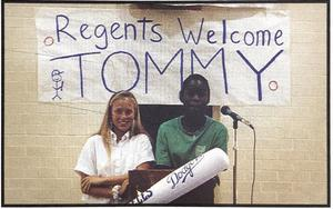 Tommy Lasorda visits SL Fall 1994.JPG