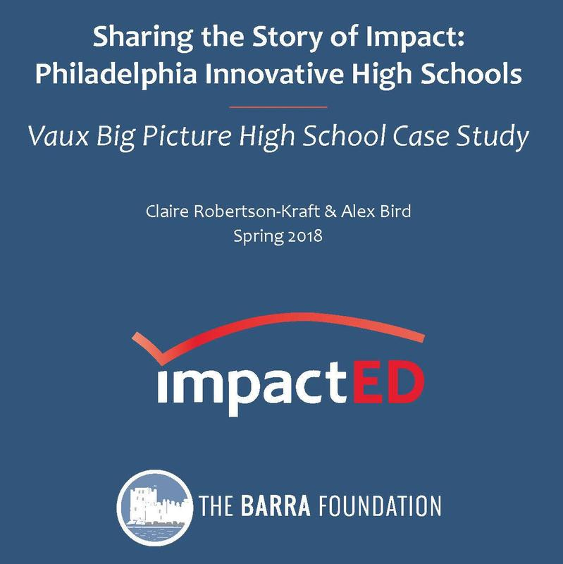 The Barra Foundation and ImpactED