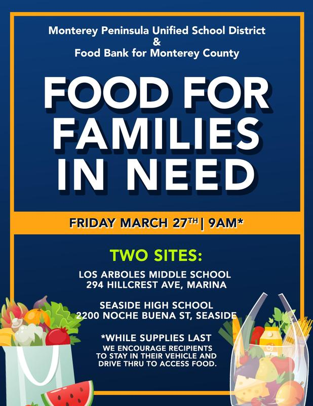 FOOD FOR FAMILIES IN NEED