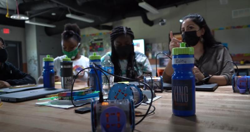 BCSD in the News: Girls Summer Robotics Program Featured Photo