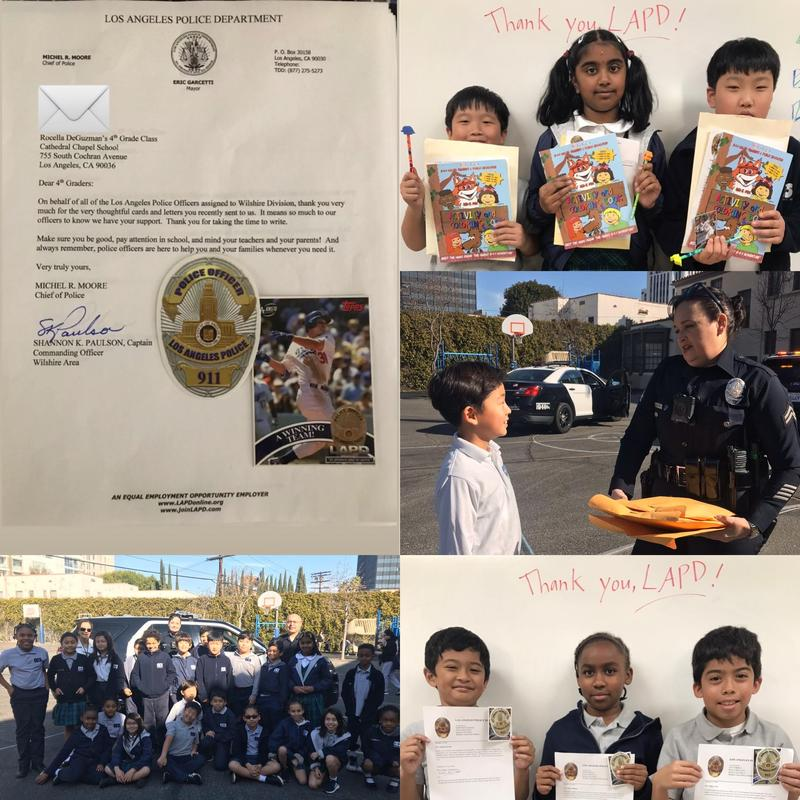 Why Are LAPD Officers Personally Thanking Chapel Students? Featured Photo