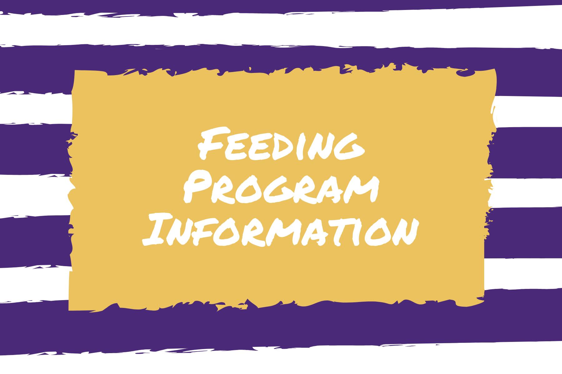 Feeding Program Graphic