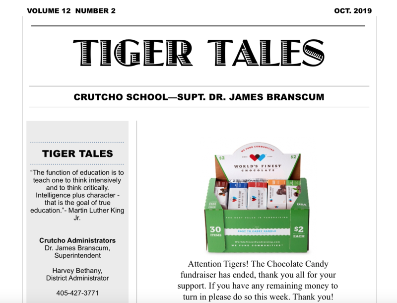 October Tigers Tales 2019!! Featured Photo