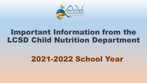 LCSD Child Nutrition Graphic