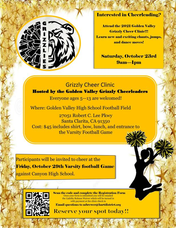 GV Cheer Clinic Announced Featured Photo