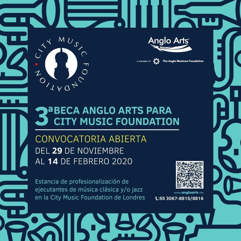 Ya está abierta la convocatoria de la 3° Beca Anglo Arts City Music Foundation para la profesionalización de ejecutantes de música clásica y jazz Featured Photo