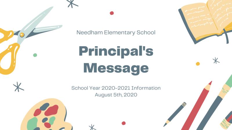 Principal's Message Graphic
