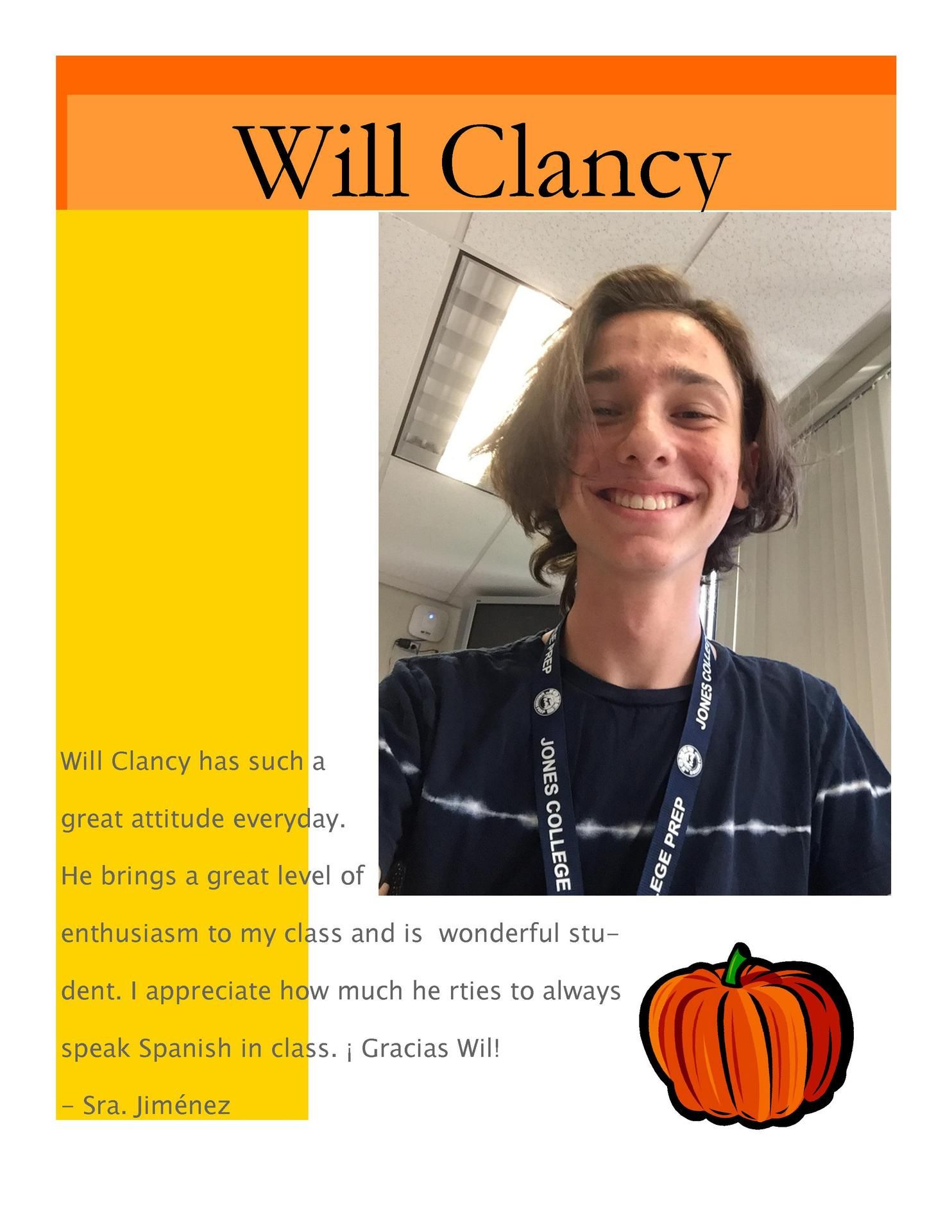 Image of Will Clany