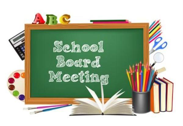 Tonight's Board Meeting will be held at 6:00 p.m. at John C. Martinez Elementary School Featured Photo