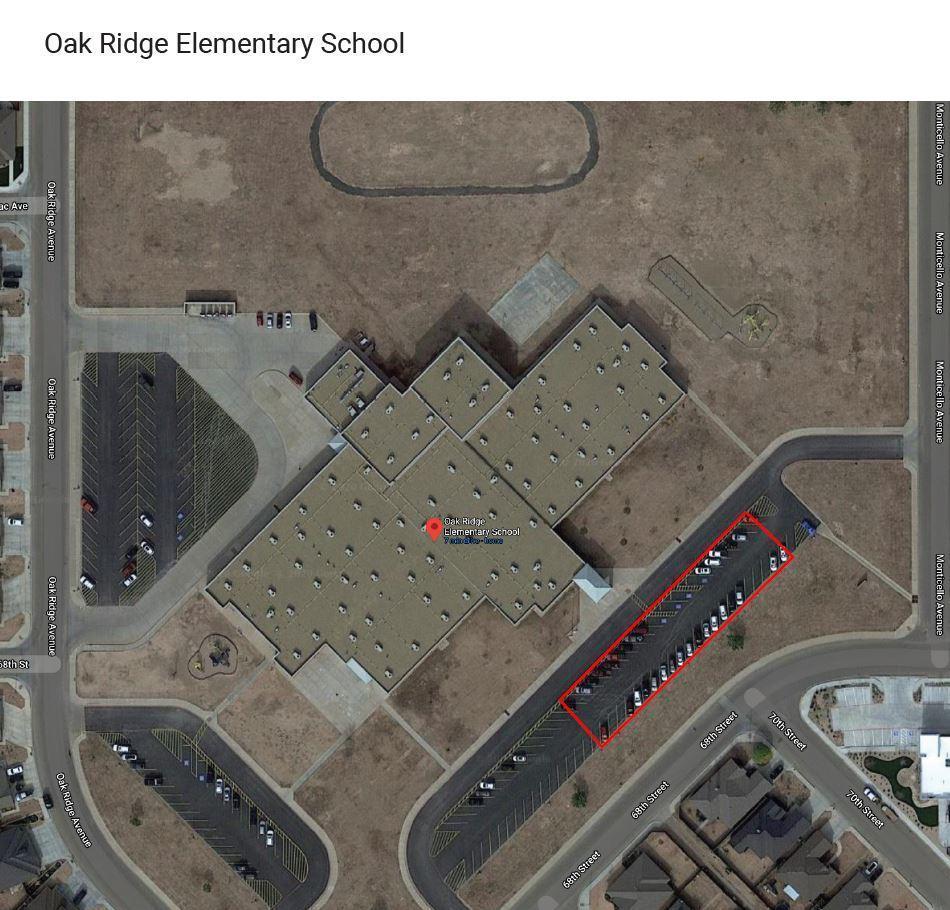 Oak Ridge Elementary  map