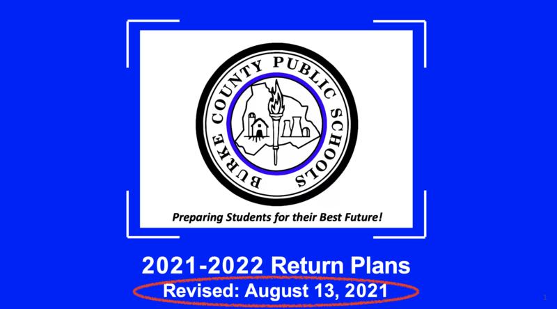 return to school plans-revised
