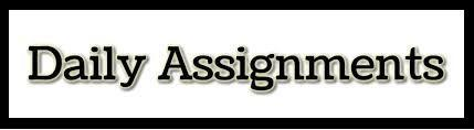 Daily Assignments