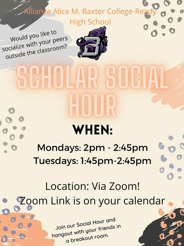 Scholar Social Hour Thumbnail Image