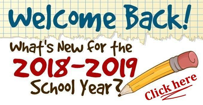 What is new for the 18-19 School Year