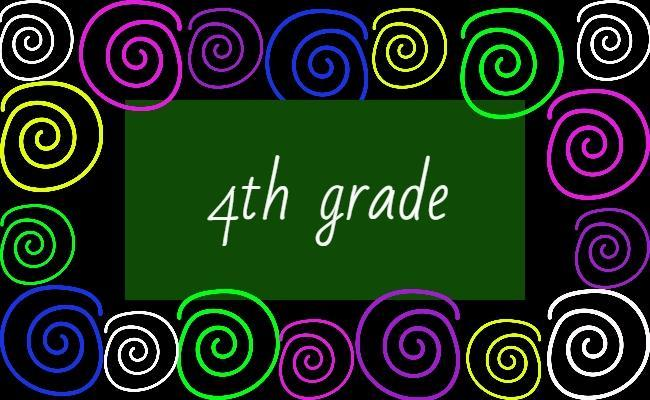 Image of 4th grade name