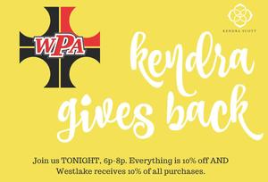 Join us TONIGHT, 6p-8p. Everything is 10% off AND Westlake receives 10% back of all purchases. (1).jpg