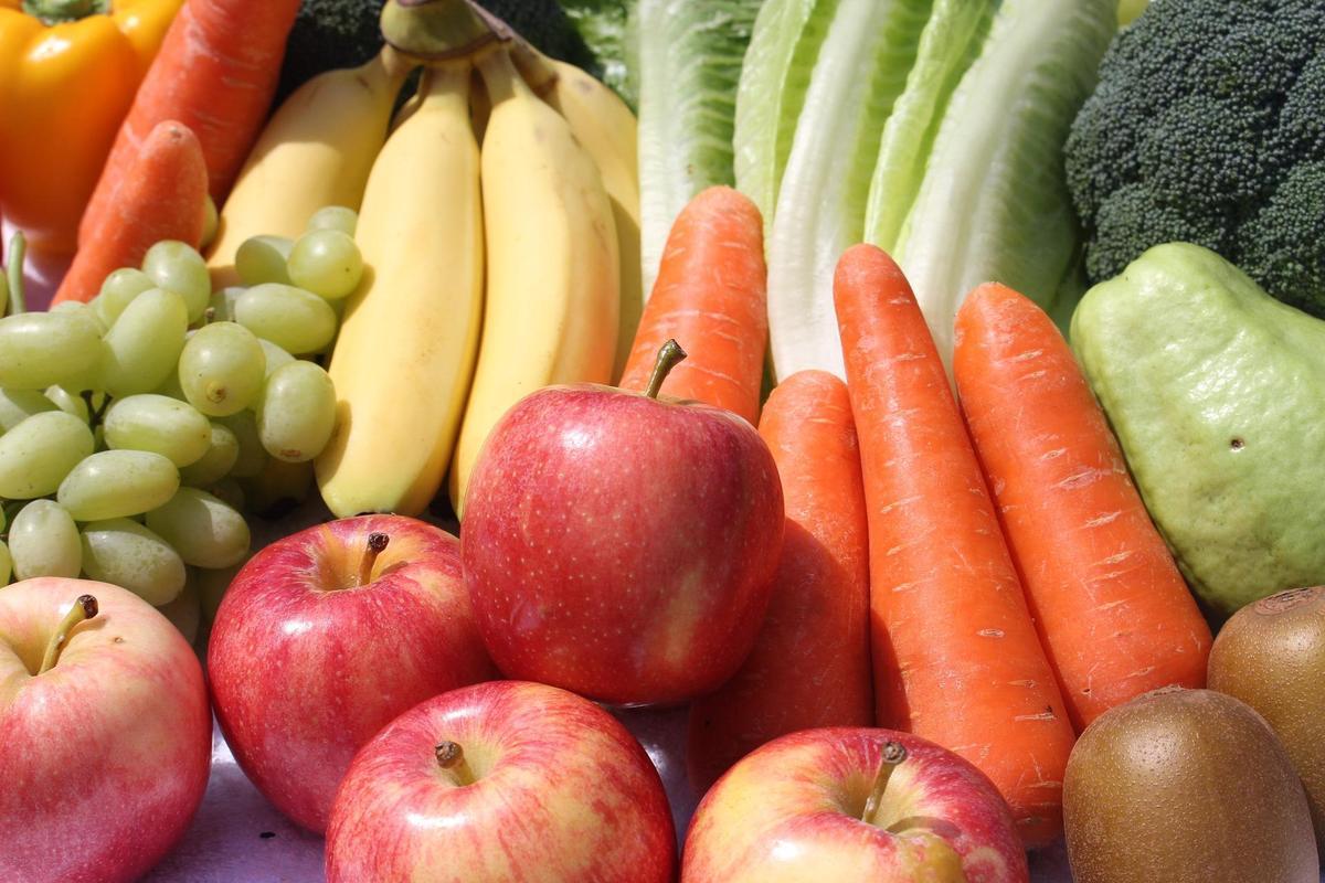 fruit and veggies