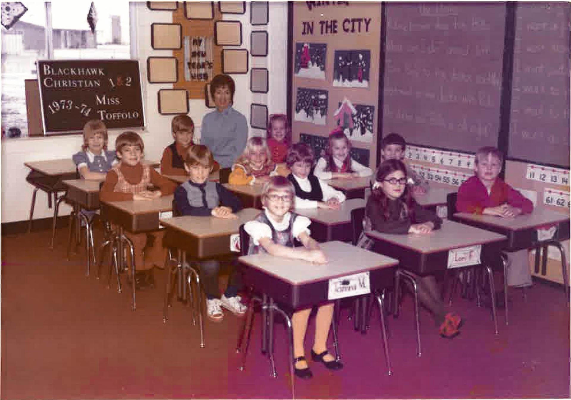 Classroom 1973-74