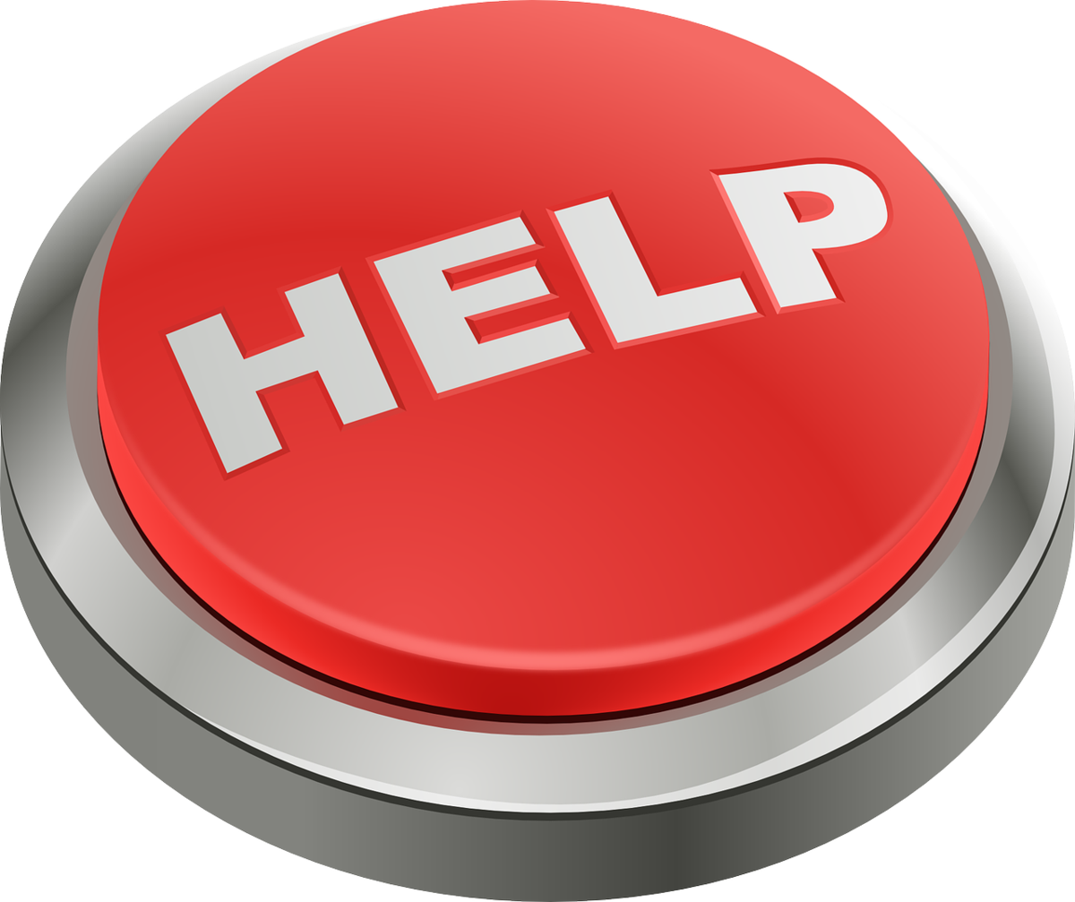 Photo of Help button