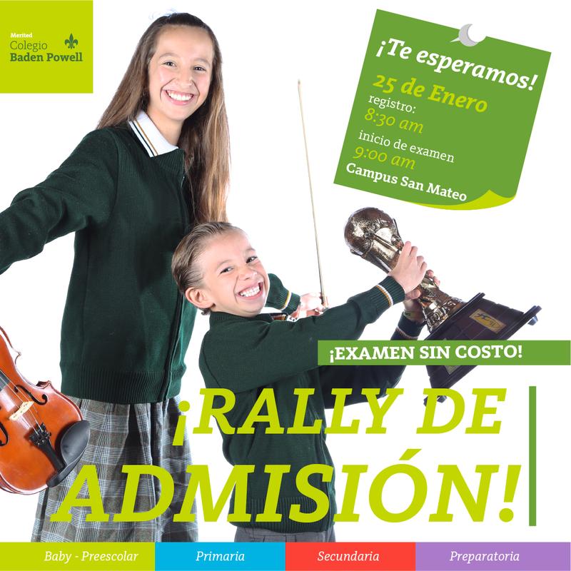 RALLY DE ADMISIÓN Featured Photo