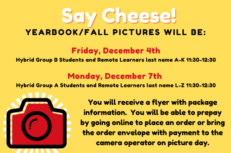 Yearbook/Fall Picture Day Featured Photo