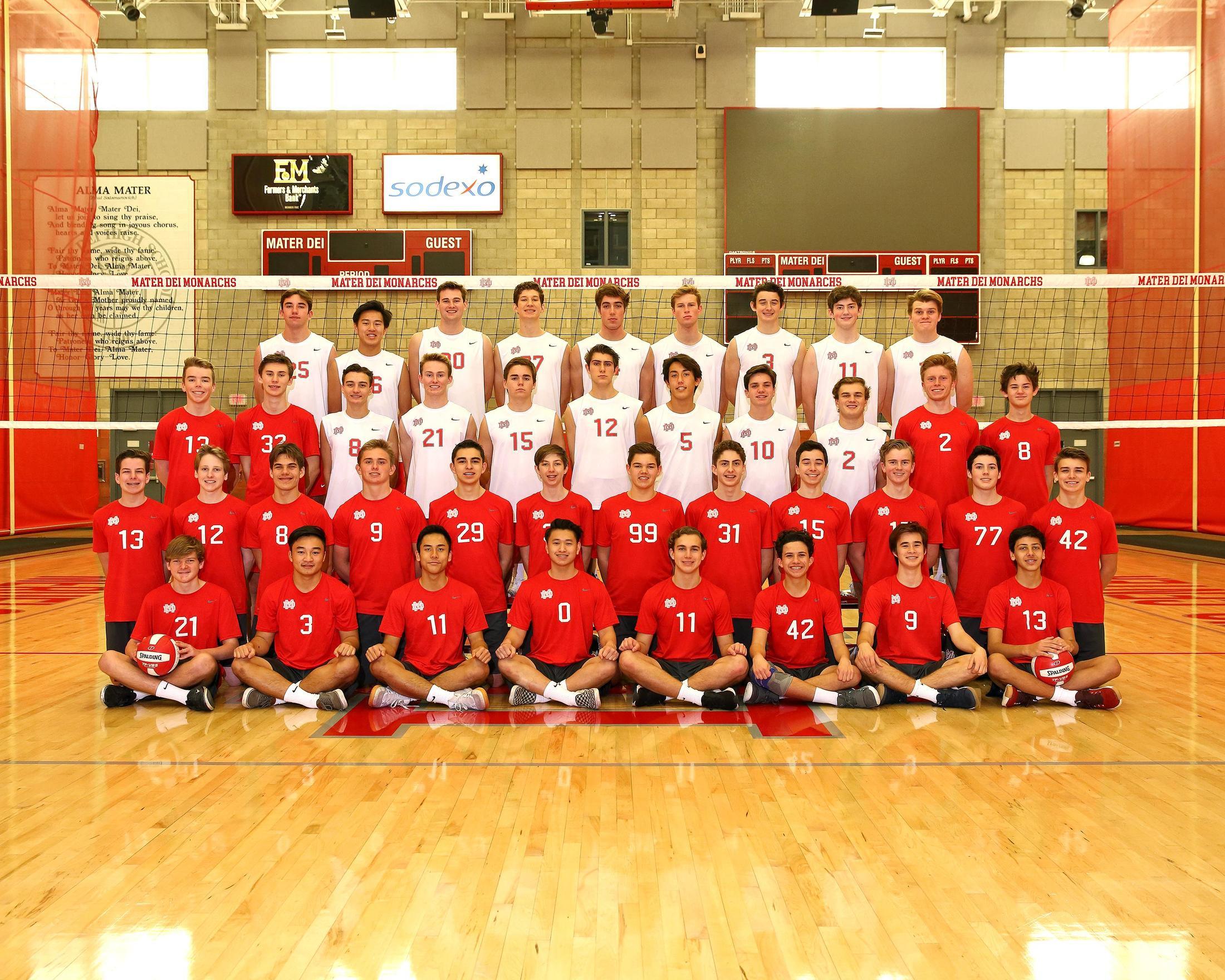 Boys Volleyball – Volleyball – Mater Dei High School Athletics