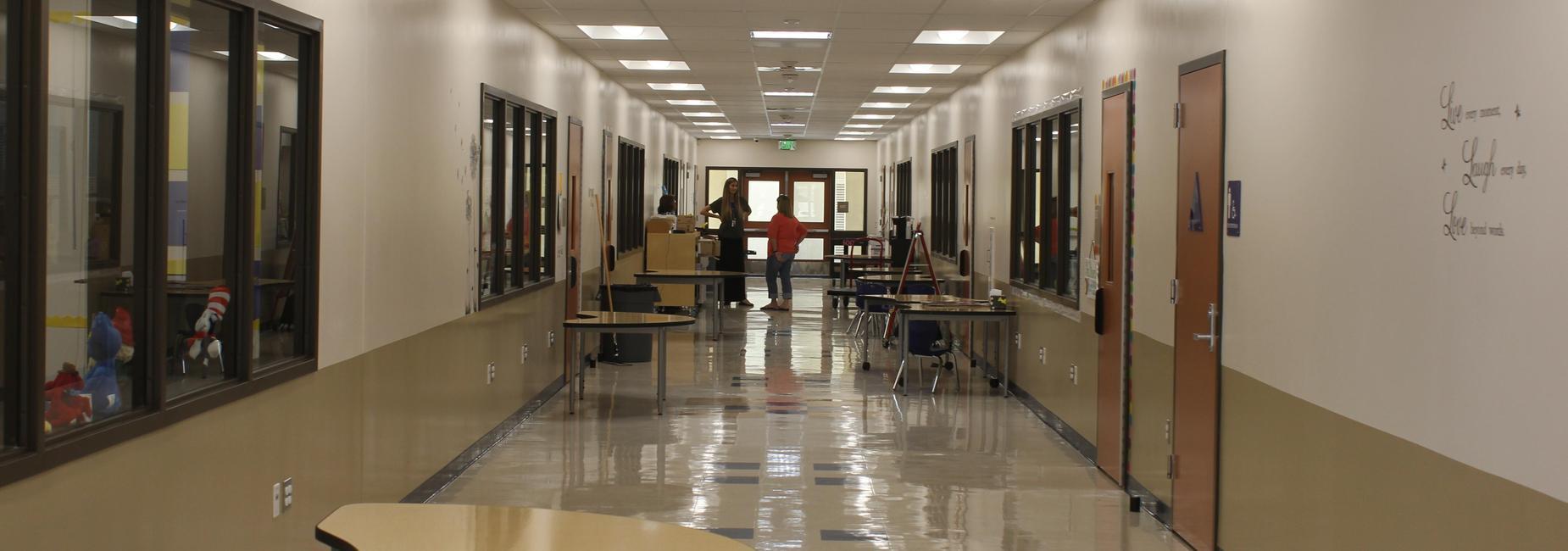 Hemet Elementary Hallway