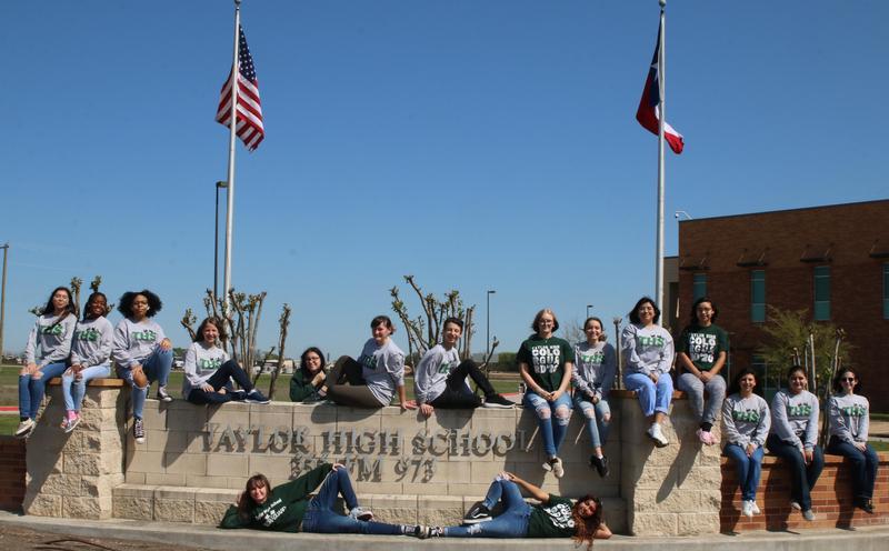 Color Guard Group Photo