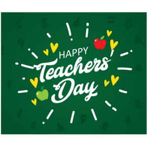 Teacher Day poster