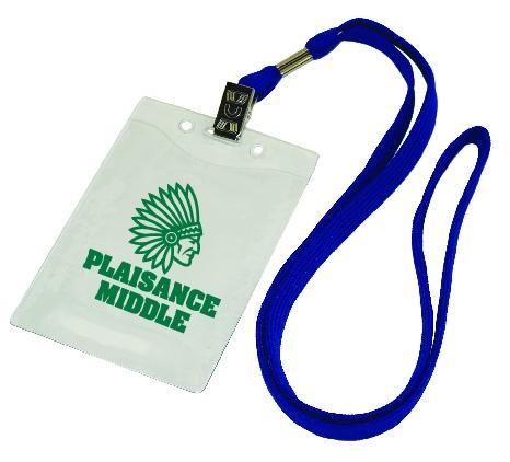 ID Lanyard with Plastic Pouch