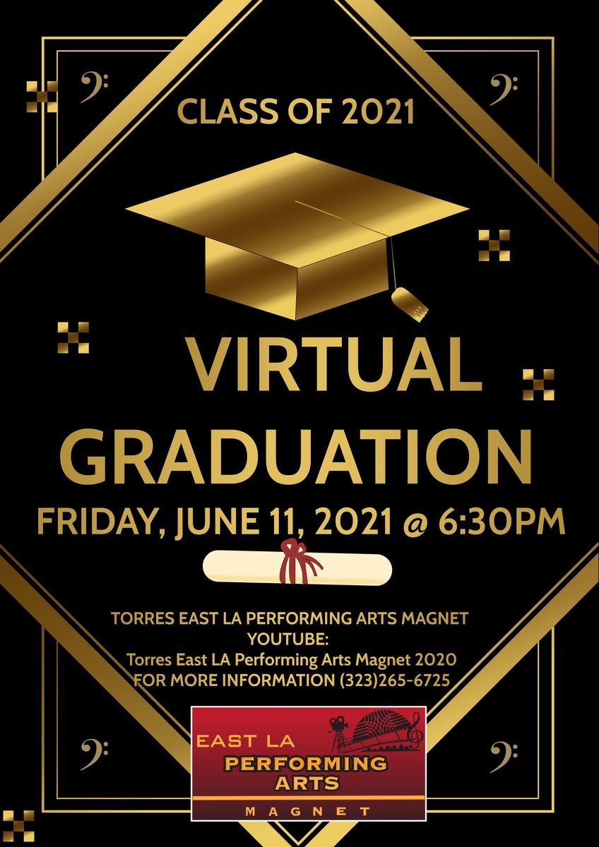 Virtual Graduation Class of 2021 Featured Photo