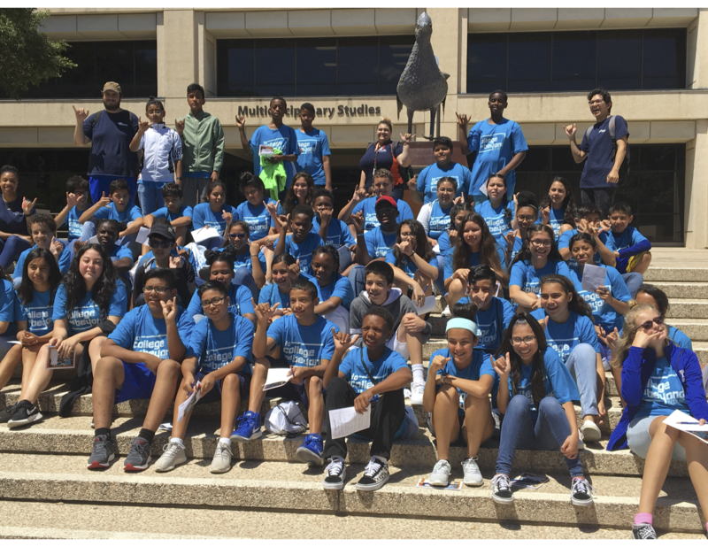 MISD 8th Graders Attend GEAR UP To College & Beyond Summer Program Thumbnail Image