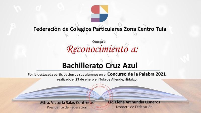 Felicidades a nuestras alumnas de Bachillerato ganadoras del Concurso de la palabra 2021 Featured Photo