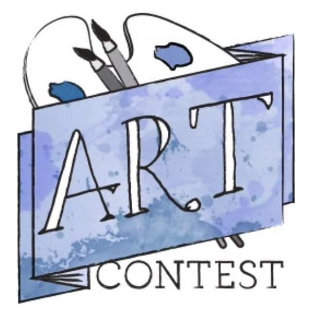 Image that reads Art Contest