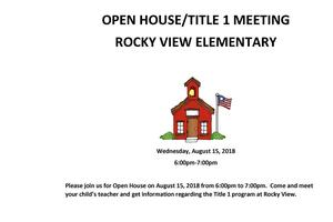 Rocky View Open House