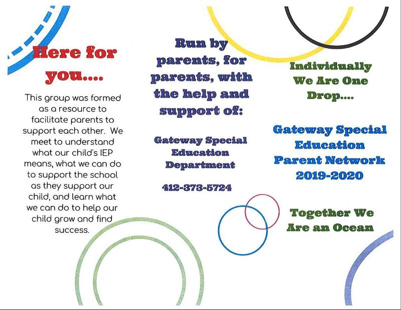 Gateway Special Education Parent Network 2019-2020 Thumbnail Image