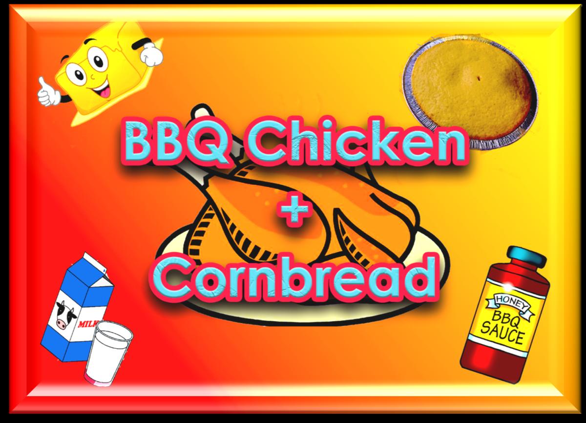 BBQ Cjhicken + Cornbread