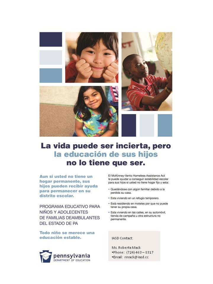 IASD Homeless Contact Info