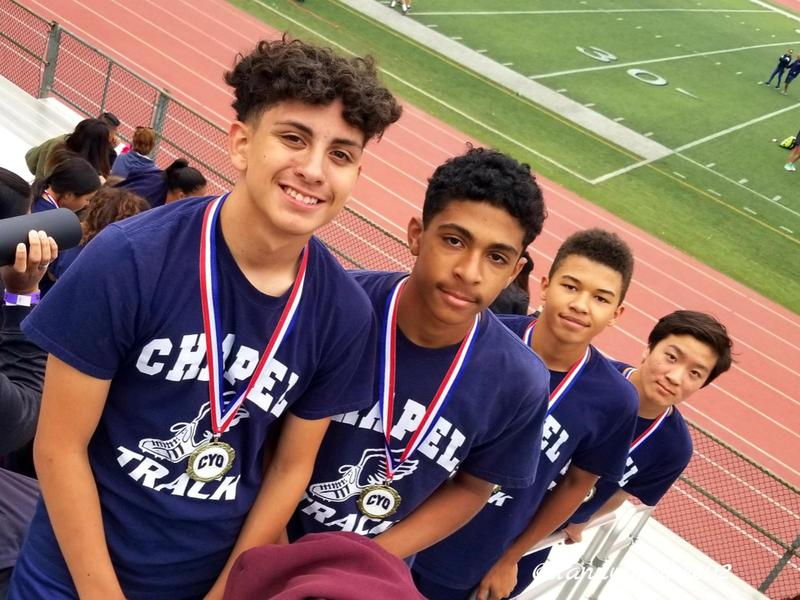 Check Out the CYO Champs in the 4X100 Relay for 2019! Featured Photo