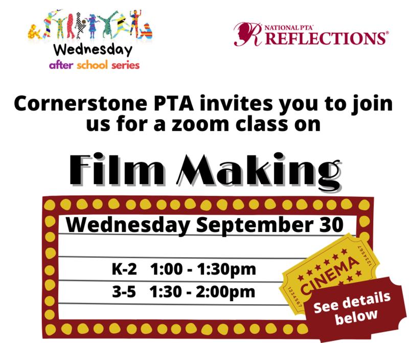 Film making class flyer