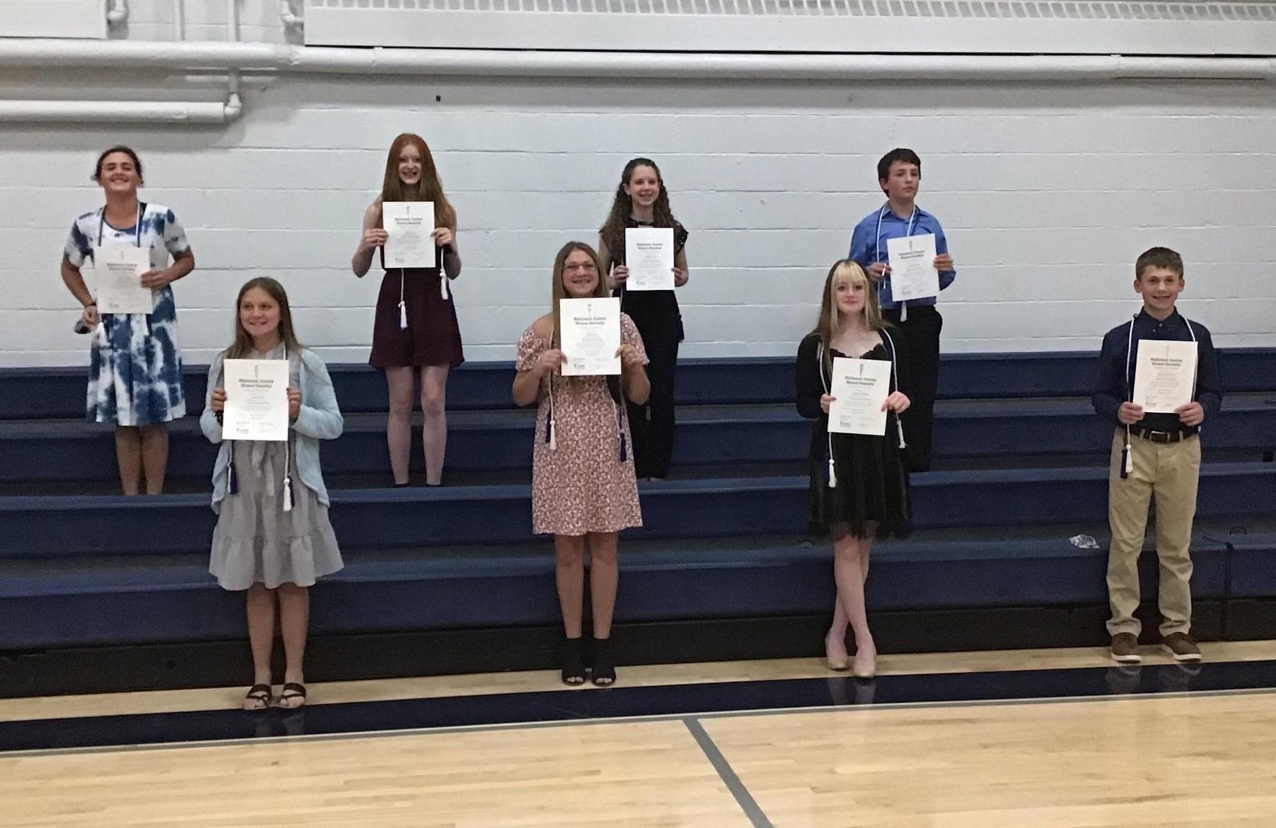 National Junior Honor Society Ceremony