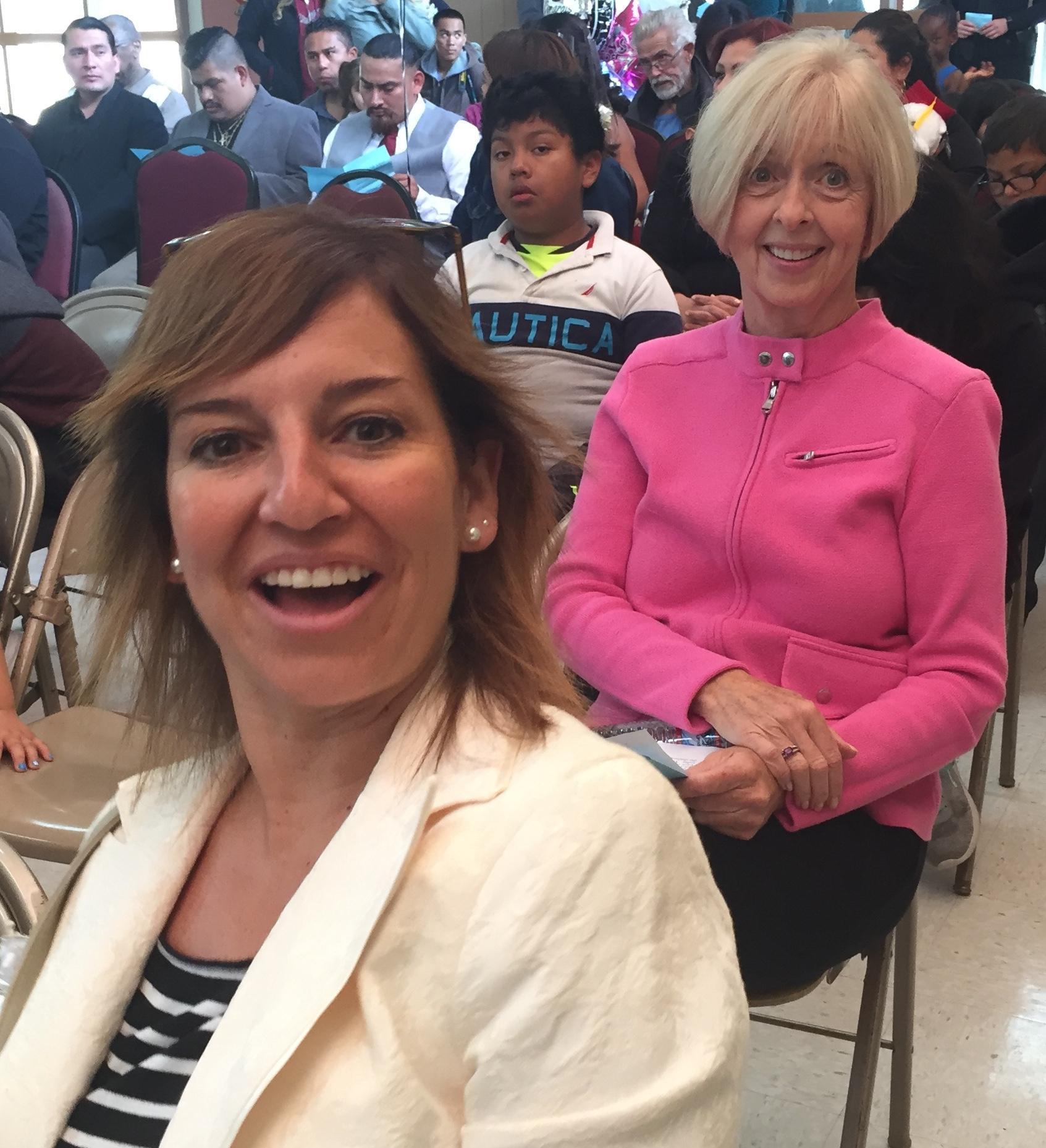 Carmen Gutierrez and Dorothy Schumacher