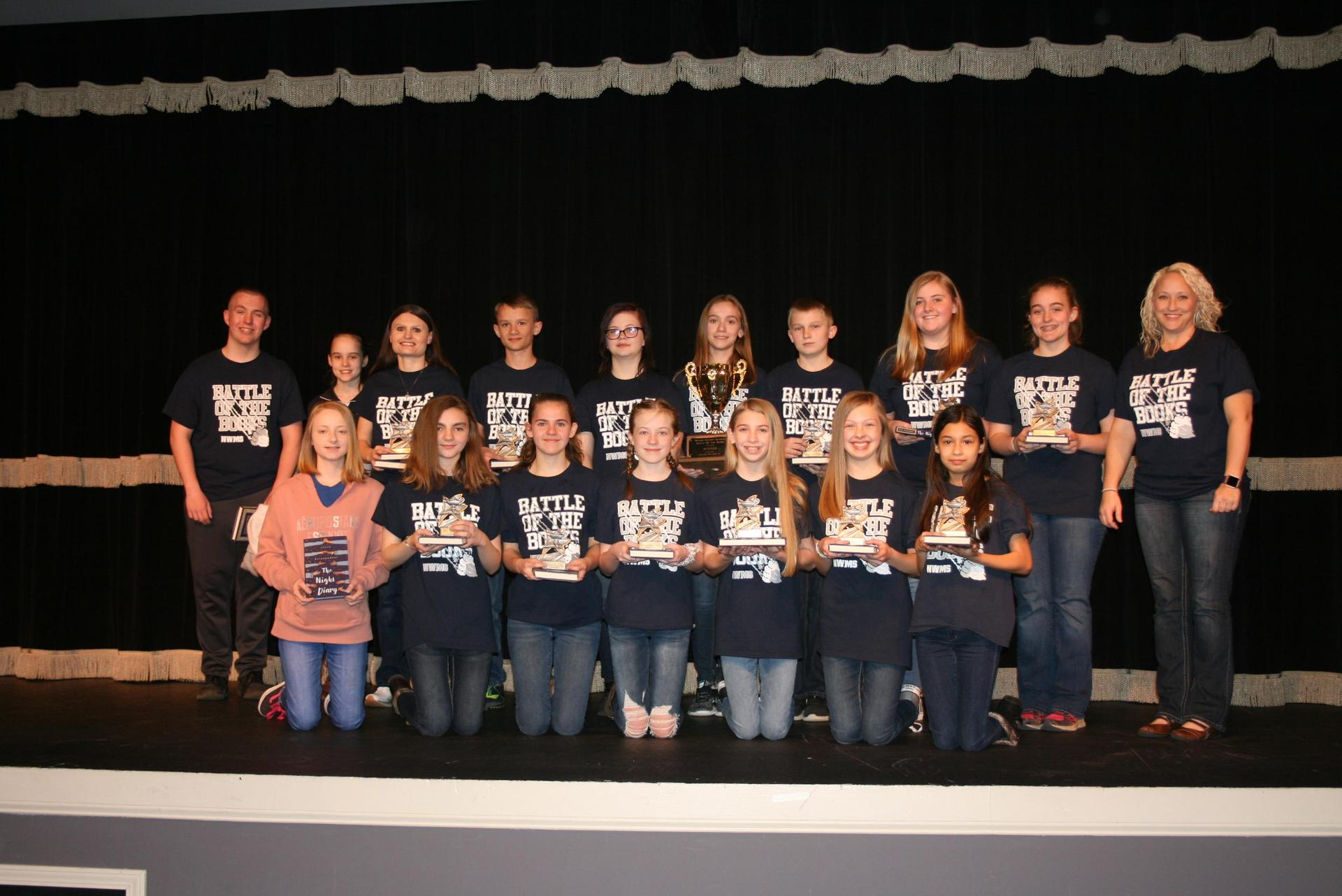North Wilkes Middle Battle of the Books Team