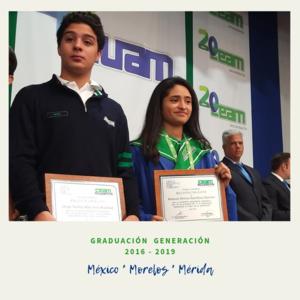 Graduación  Generación  2016 - 2019