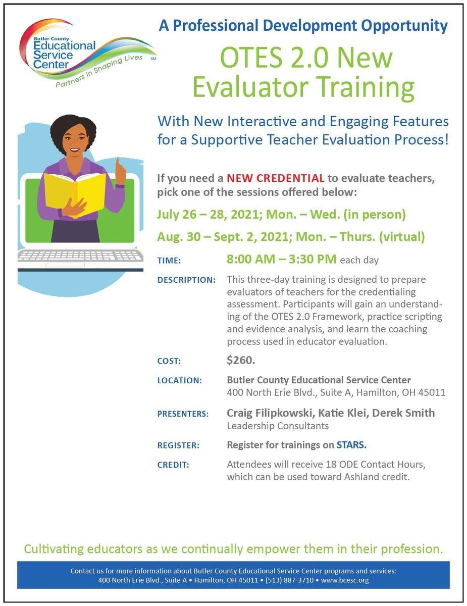 OTES 2.0 New Evaluator Training